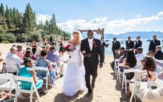 Dreaming of a destination wedding? This couple chose South Lake Tahoe, and The Ridge Tahoe for their special day. Whether you dream of a wedding on the beach or a glam affair in a ballroom, South Lake Tahoe has the venue to make your wedding wishes come true. #destinationwedding #Tahoewedding www.tahoeweddingsites.com