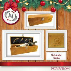 Seguimos dándote opciones para tus obsequios este fin de año… El Set de Vino Bambú lo podemos personalizar o ponerle el logotipo de tu empresa, siempre denotando distinción, contiene: caja de madera bambú, cierre metálico con set de bar en Bambú y Metal: corta gota, vertedor, tapón y sacacorchos. Tabique regulable para botellas chicas.#setdevino#regaloejecutivo#promocionales#novaprom  http://novaprom.com/producto?id=643