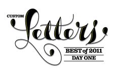 LetterCult — Custom Letter Culture // love the method of the wider portions