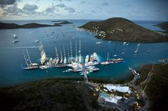 @Blohm+Vossyachts we take an active interest in current #sailingregattas around the world. This month heralds a busy and very competitive #Caribbean regatta season and yesterday saw the start of the @LoroPiana Caribbean Superyacht Regatta & Rendezvous held in #VirginGorda in the #BVI's. #ExpecttheExceptional www.blohmvossyachts.com