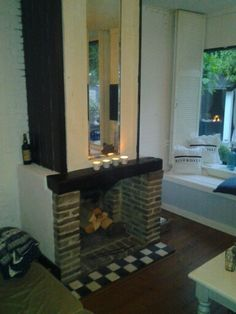 Openhaard Home Decor, Decoration Home, Room Decor, Home Interior Design, Home Decoration, Interior Design