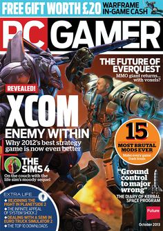 PC Gamer October 2013 (UK) English | 132 pages | True PDF | 34.04 MB