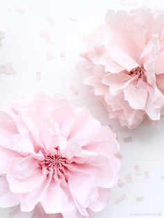DIY Paper Pompoms Tutorial-needs translated I Believe In Pink, Diy Paper, Diy Craft Projects, Washi Tape, Paper Flowers, Gift Cards, Crafts, Day Care, Recipes
