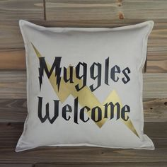 Harry Potter Inspired 16x16 Pillow Cover by ExpressionsByShari