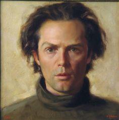 paperimages:    Paul S. Brown, Self-Portrait