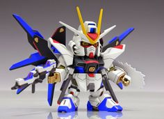 GUNDAM GUY: SD BB Strike Freedom Gundam - Painted Build