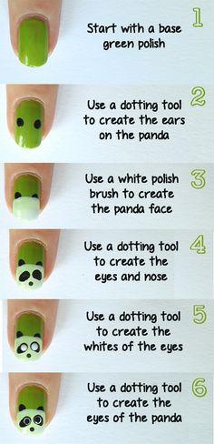 Tutorial Tuesday: Panda Nails