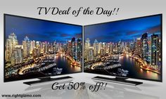 #Deal of the day !!  Best deal available in US today. Get up to 50% off on Samsung 4k Ultra HD TV. Buy Today for a new experience.  #TV #TVDeals #SamsungTv
