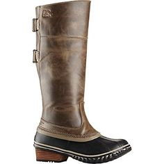 Sorel Slimpack Riding Tall II Boot - Women's Dark Fog / Silver Sage 7.5 *** Learn more by visiting the image link.