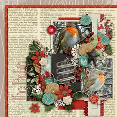 Kit: Merry Christmas Darling Collection Bundle - Meagan's Creations Template: Autumnal - Southern Serenity Designs by Amber Morrison @TDC OR @TheStudio