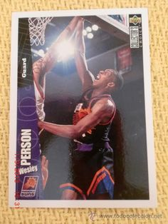 NBA 1996 - 97 upper deck collector's choice - 125 - WESLEY PERSON