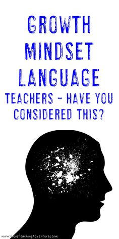 Teachers - have you considered the language you're using in the classroom? Our students and kids are watching and learning from us. Sometimes even a simple phrase can have a negative effect on growth mindset. Click through to see one phrase you should avoid in the classroom, plus get great book ideas for your elementary students.