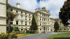 Believed to be the largest wooden office building in the Southern Hemisphere, the Government Buildings in Wellington, New Zealand. Completed in South Pacific, Pacific Ocean, State Of Arizona, Back In Time, New Zealand, Buildings, Southern, Australia, Island