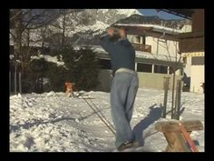 Dedicated to slackline in the winter.