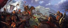Battle Of Seven Stars [Andals vs First Men] by John McCambridge - The Battle of Seven Stars was a massive battle that took place at the foot of the Giant's Lance in the Vale during the period known as the Andal invasion.