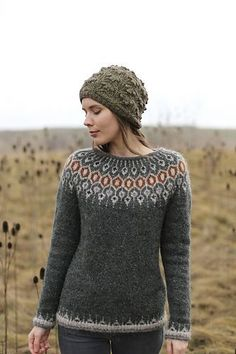 El esquema y la descripción de la labor de punto Knitting Designs, Knitting Patterns, Pullover Upcycling, Icelandic Sweaters, Cable Knit Jumper, I Cord, Knit In The Round, Sweater Weather, Pulls