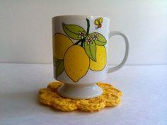Ceramic Lemon Topiary Table Centerpiece Signed Cm Ebay