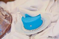 Mini Cinderella Glass Slipper Cake