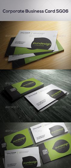 Corporate Business Card SG06