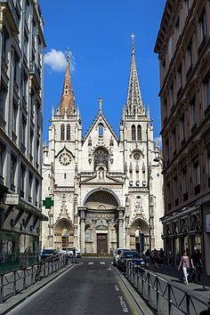 Saint Nizier Church, Lyon, Rhone, France, Europe