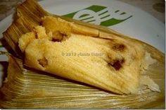 Tamales Canarios. Tamales de arroz. Receta paso a paso