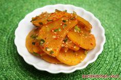 Pickled Radish MuChim | Aeri's Kitchen | Cooking Korean Recipes & Food