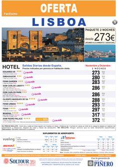 Lisboa - Avión + Hotel - salidas desde España - Noviembre y Diciembre ultimo minuto - http://zocotours.com/lisboa-avion-hotel-salidas-desde-espana-noviembre-y-diciembre-ultimo-minuto/