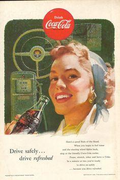 The National Geographic Magazine - Pub. Coca-Cola 1952-1965 > 1953
