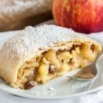 With its flaky crust and a spiced apple filling, this traditional Apfelstrudel recipe is sure to wow your guests.