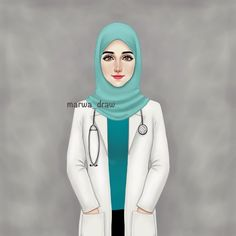 "3,635 Likes, 199 Comments - Marwa Ali (@marwa_draw) on Instagram: ""دكتورة ... • • @marwaali4 #marwa_draw #sketchbookpro #sketch #art #draw #drawing #mydrawing…"""