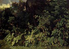 Carl Spitzweg - Forest Landscape Carl Spitzweg, Forest Landscape, Paintings, Illustration, Artist, Plants, Poster, Pen And Wash, Paper