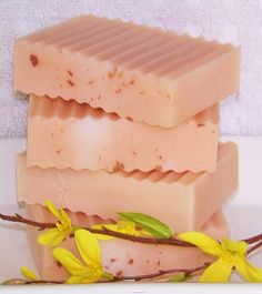 Shea Butter Natural Soap - Magnolia & Orange - scent idea