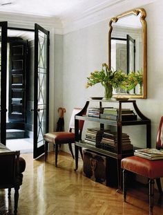 Voltaire Server by Smith for Baker as seen in House Beautiful, interior by Michael S. Smith