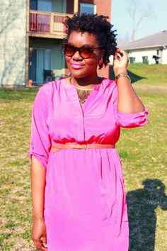 Chioma's Evolution of Style: Vivacious Pink!