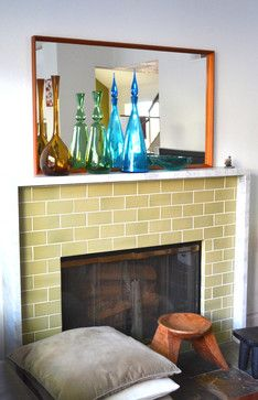 Fireplace Tile Design Ideas, Pictures, Remodel, and Decor - page 14