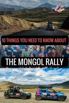 10 Things You Need To Know About The Mongol Rally