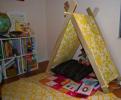 A-frame tent cover tutorial.