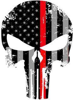 Tattered Reflective Firefighter Inch Subdued Us Flag Punisher Skull Decal with Thin RED Line Punisher Skull Decal, Punisher Tattoo, Punisher Logo, Punisher Marvel, Punisher Netflix, Ms Marvel, Captain Marvel, Marvel Comics, Wallpaper Kawaii