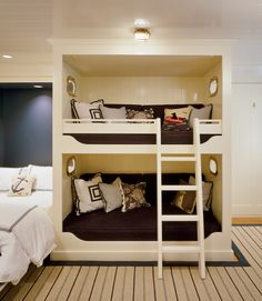 enclosed bunk beds