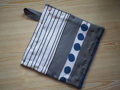 Jatan tapaan : Näin ompelen patalapun Zip Around Wallet, Diy, Bags, Handbags, Bricolage, Do It Yourself, Homemade, Diys, Bag