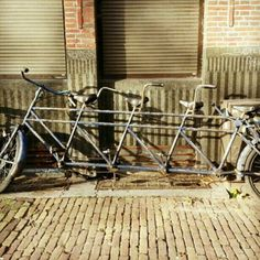 Four-person bike in #Amsterdam, #Netherlands. Image by @katersmcd83. #lp #travel