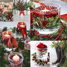 Christmas candles...