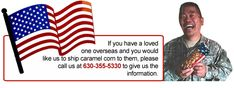 Support Our Troops Bulk Candy, Candy Shop, Michelle Pearson, Carmel Corn, Support Our Troops, Popcorn, Caramel, Care Packages, Sweets