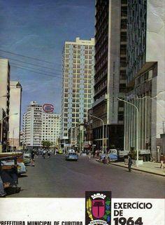 Rua Marechal Deodoro esquina Monsenhor Celso ano de 1964 FOTO : ORIENTE BARBOSA MENDES