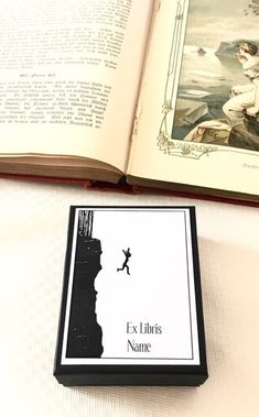 Ex Libris Cliff Dive 15 Personalized Bookplates, Literary Gifts for Readers Gifts For Bookworms, Gifts For Readers, Sailing Gifts, Literary Gifts, Custom Book, Ex Libris, In Loving Memory, Guide Book, Great Books