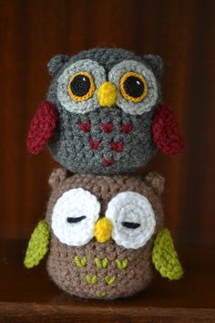 Cute Amigurumi Crocheted Owl Pre-order by TsukiNekoAtelier on Etsy