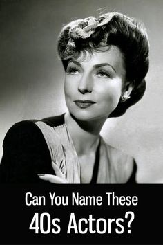 Naming These Actors Is Surprisingly Difficult! Old Hollywood Stars, Hollywood Actor, Vintage Hollywood, Hollywood Glamour, Classic Hollywood, Classic Movie Stars, Classic Movies, Old Movie Stars, Classic Actresses