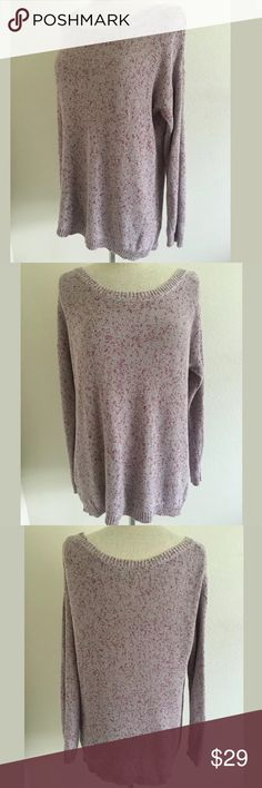 Anthropologie sweater by Rubbish SKU: SD14343  Length Shoulder To Hem: 27.75 Bust: 52 Waist: 48.5 Fabric Content: 100% Cotton Anthropologie Sweaters