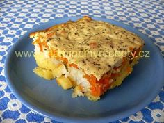 Zapečený pangasius No Salt Recipes, Lasagna, Quiche, Breakfast, Ethnic Recipes, Food, Morning Coffee, Salt Free Recipes, Quiches