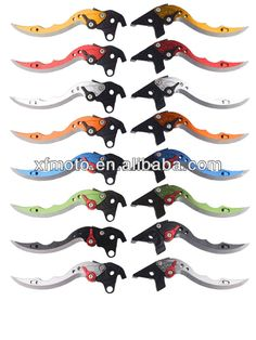 CNC Motorcycle CNC Brake Lever wholesale motorcycle levers for Kawasaki Versys 2009-2012( Knife Shape Levers ) $16.5~$17